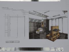 室內設計空間意象圖與施工大樣圖-1011