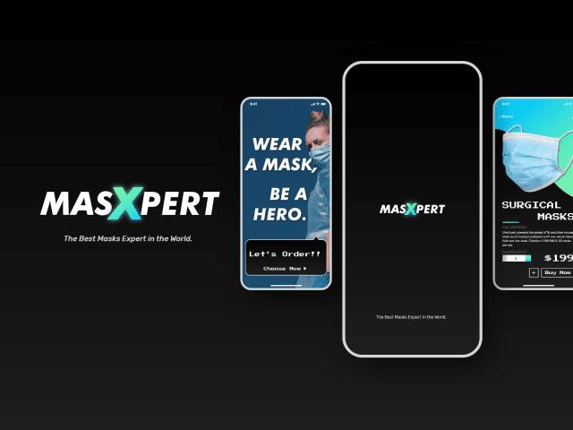 【UI Design/ Branding】Masxpert