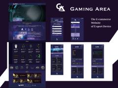 Gaming Area - 電競設備電商平台