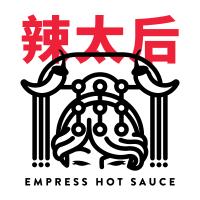Empress Hot Sauce 辣太后 創意美式辣醬 logo