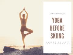 Yoga Before Skiing