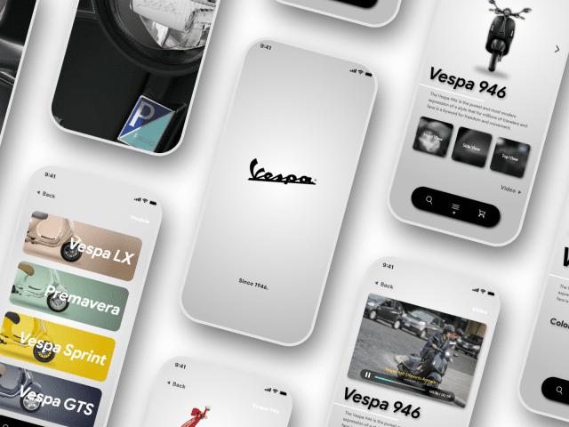 【UI Design】Vespa