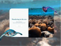 UI Design/wondering in the sea