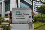 Hewlett Packard Enterprise work environment photo