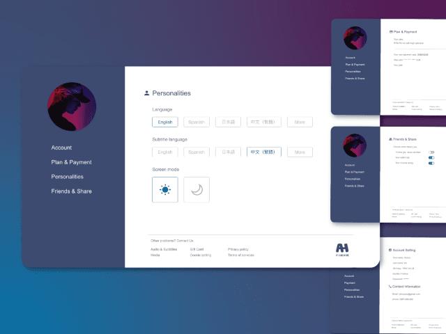 UI DESIGN | Setting