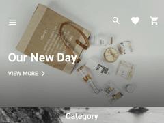 Flutter e-commerce design with Redux using BLoC