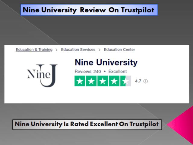 Nine University Review On Trustpilot