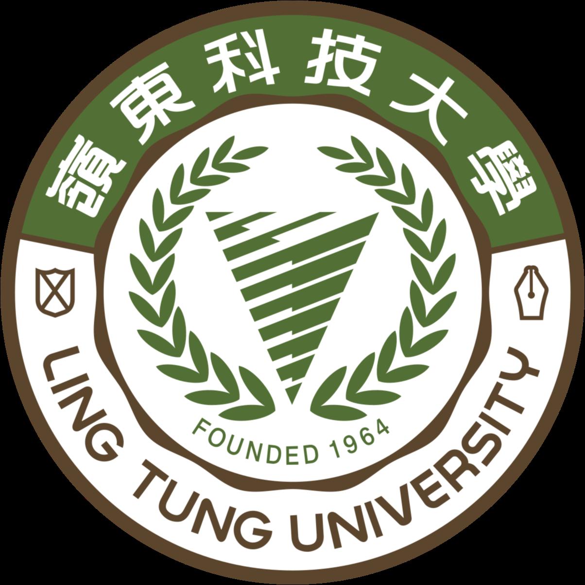 嶺東科技大學 logo