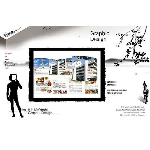 平面印刷&網頁設計師 logo