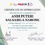 Project Manager Webinar PRECIS logo