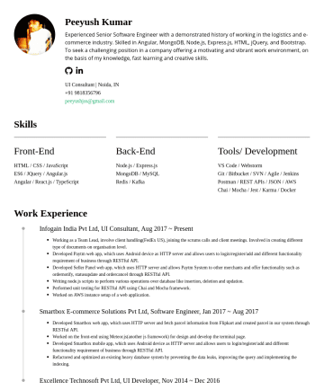 Other Resume Examples